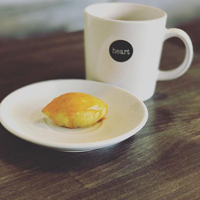 good morning!!今日はElskaでほっこりしませんか?自家製スイートポテトを作ったので是非!! #coffee #elskaheartcoffee - from Instagram