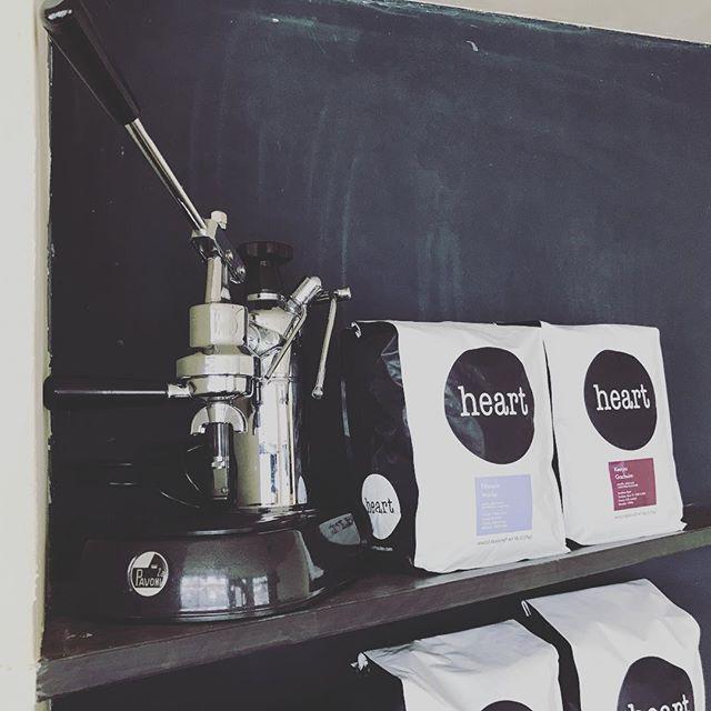 Hello!! new beans!!!#elskaheartcoffee #heartcoffeeroasters - from Instagram