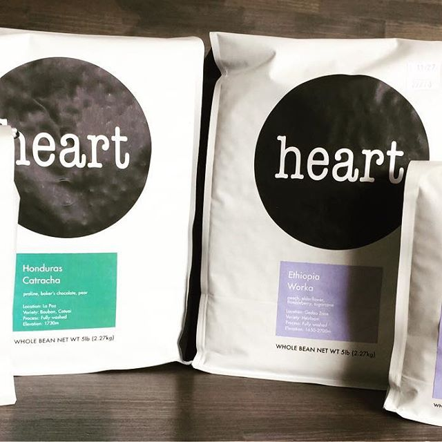 new beans!!ETHOPIA workaHONDURAS catracha!have a nice day!@elskaheartcoffee @coffeebeans - from Instagram