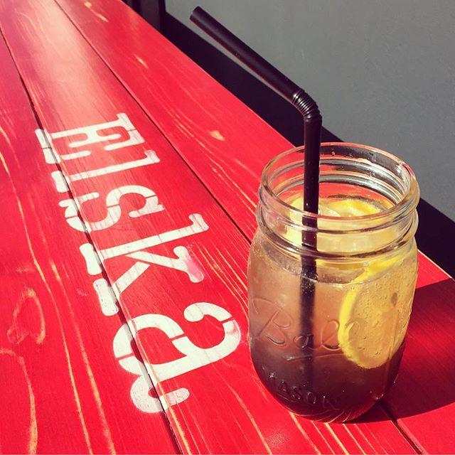 """Good morning!新作 """"カスカラフィズ"""" カスカラとは、コーヒーチェリーの果肉を乾燥させた物です。カフェインフリーなので、妊婦の方やカフェインが苦手な方にも安心してお楽しみ頂けます!Check it out #elskaheartcoffee - from Instagram"""