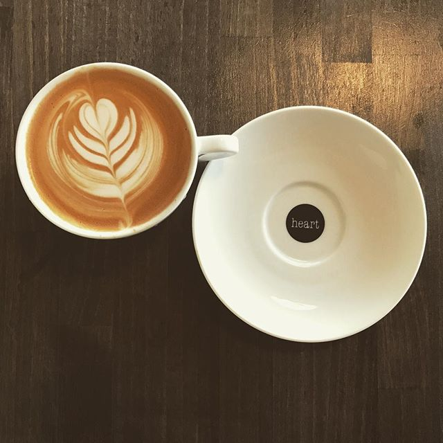 #elskaheartcoffee #latte #heartcoffeeroasters - from Instagram