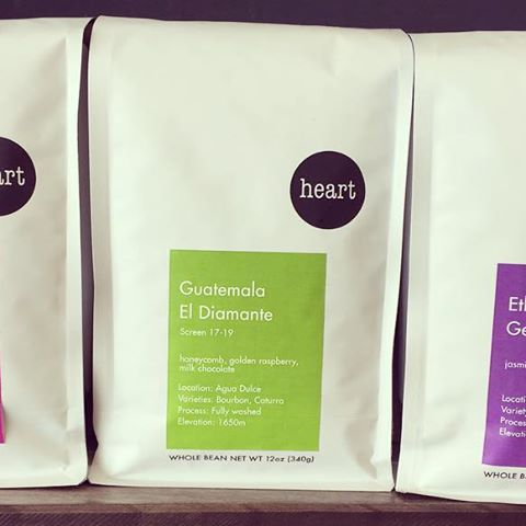 Hello! お待たせ致しました、新しい豆の入荷です#Ethiopia#Kenya#Guatemala 個性溢れる3種類の豆を思う存分ご堪能下さい!#elskaheartcoffee #heartcoffeeroasters #beans #pourover #espresso #specialitycoffee - from Instagram