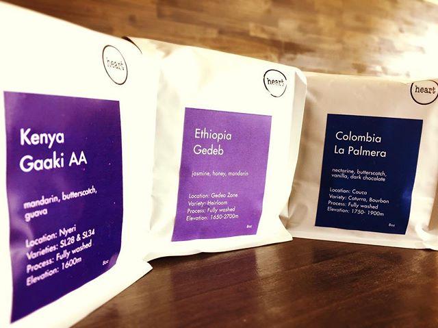 Hello 新しい豆を入荷しました!今回のラインナップは、エチオピア:ゲデブケニア :ガーキAAコロンビア:ラパルメラとなっております♪最高峰の浅煎り豆をご堪能ください!お待ちしております#elskaheartcoffee #specialitycoffee #pourover #aeropress #ethiopia #colombia #kenya - from Instagram