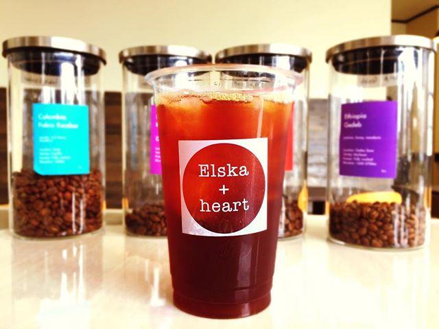 おはようございます一日の始まりの一杯はElskaでテイクアウトも出来ます♪#elskaheartcoffee #specialitycoffee #handdrip #coffeetime #latte #pourover #icecoffee #coldbrew #宇都宮カフェ #栃木カフェ #スペシャルティコーヒー - from Instagram