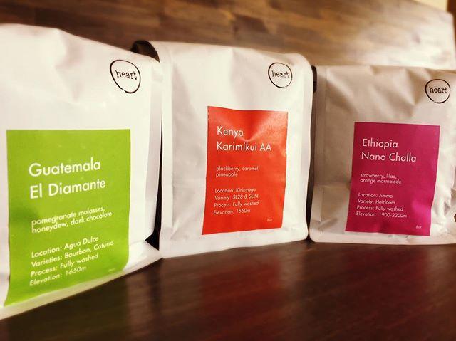 Hello 😀新しい豆、入荷しました♪今回は、Ethiopia-Nano Challa Kenya-Karimikui AAGuatemala-El Diamante 3種類の追加ラインナップとなっております!ご来店、お待ちしております#handdrip #coffeelover #coffeeshop #coldbrew #coffeetime #pourover #specialtycoffee #elskaheartcoffee #宇都宮カフェ #栃木カフェ #aeropress #frenchpress #カフェ部 #heartcoffee #icedcoffee #ethiopia #kenya #guatemala #colombia #スペシャルティコーヒー - from Instagram
