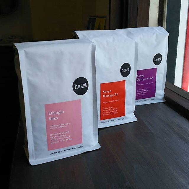 heart coffee 入荷しましたよ。(>_<) #宇都宮カフェ #サードウェーブコーヒー #カフェ - from Instagram